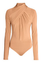 Draped body - Beige - Ladies | H&M CN 2